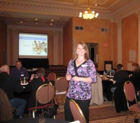 ABMP Education Facilitator Kristin Coverly in action at an IFL workshop.